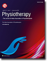 Physiotherapy - The Journal of Indian Association of